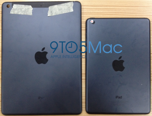 Gelekte foto's van het vermeende nieuwe ontwerp van de 'grote' iPad.
