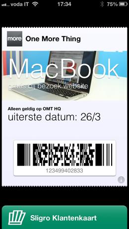 OMT Passbookactie