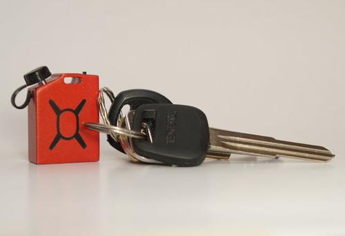 Fuel is klein genoeg om altijd aan je sleutelhanger te zitten.