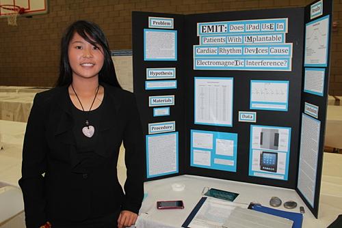 Gianna Chien en haar onderzoek.