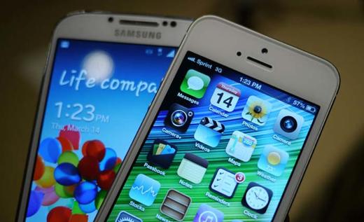 De Galaxy S4 maakt volgens Apple inbreuk op minimaal 5 patenten.
