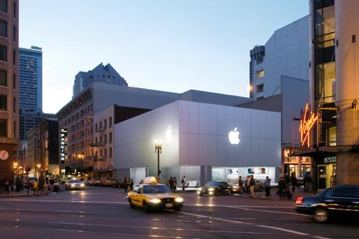 De huidige Apple Store doet al weer 9 jaar dienst