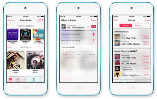 iTunes Radio: de nieuwe manier om muziek te ontdekken