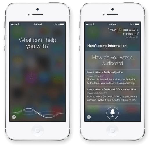 Siri: slimmer en mannelijker