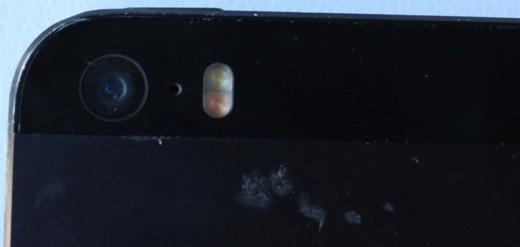 De dubbele flitser zoals te zien op het prototype.