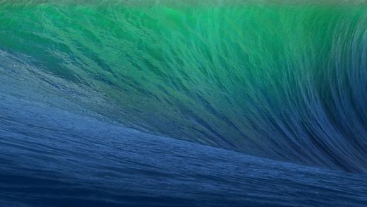 De OS X 10.9 Mavericks-wallpaper.