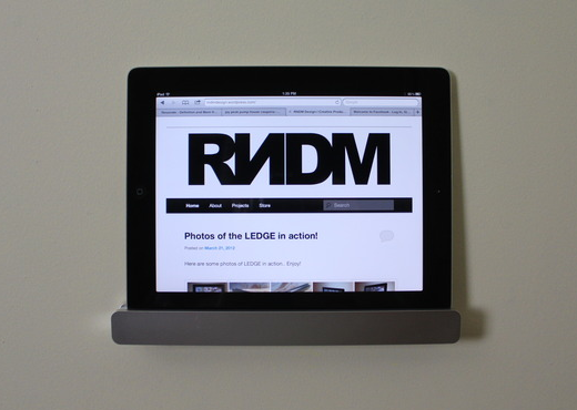 Kickstarter update: iPad aan de wand » One More Thing