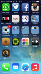Laden van een app