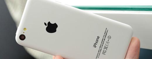 Een mockup van de geruchtmakende 'iPhone 5C'.