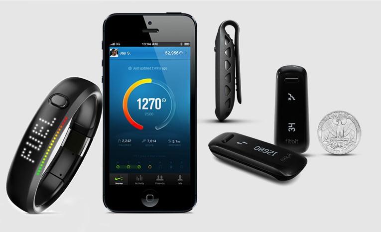 De Nike-Fuelband en Fitbit bedienen een andere kant van de polsbandjes-markt.