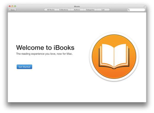 Welkom bij iBooks op OS X!