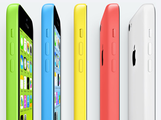 De kleurrijke iPhone 5C