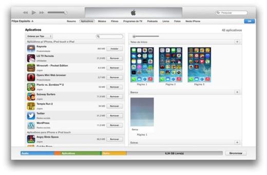 Nieuwe app organiser in iTunes 11.1 beta