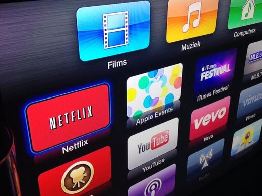 De Netflix-app is nu ook te gebruiken op de Apple TV.