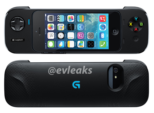 Logitech Gamepad voor iPhone [via @evleaks]