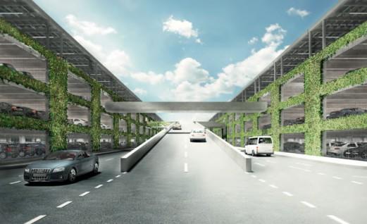 Bovengrondse parkeergarage