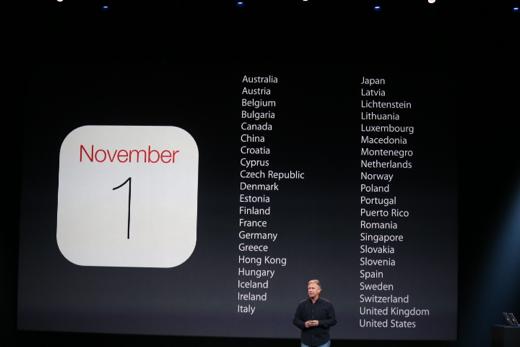 De iPad Air was de eerste iPad die vanaf dag één in China verkrijgbaar was.