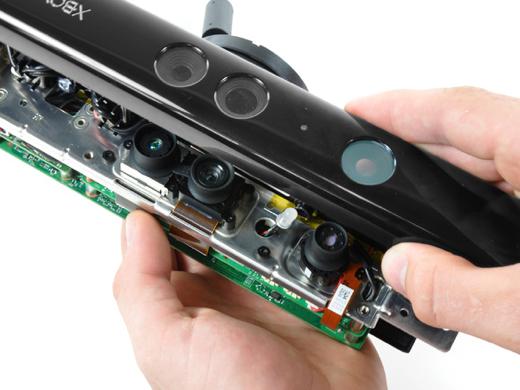 De Kinect-module van de Xbox bevat techniek van Primesense.