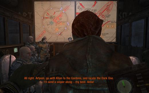 Met hoofdpersoon Artyom op missie door de metrogangen en de verwoeste bovengrondse wereld.
