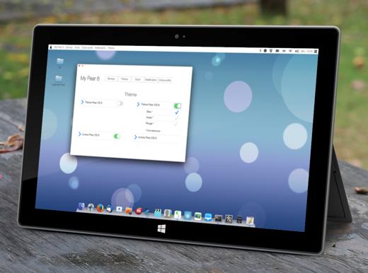 Pear OS werkt ook aan tabletversies van zijn besturingssysteem.