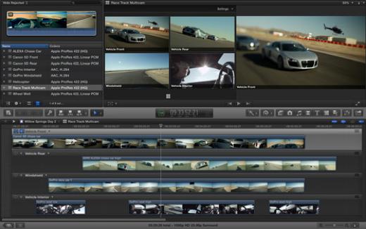 Final Cut Pro X 10.1 is klaar voor 4k editing op de nieuwe Mac Pro.