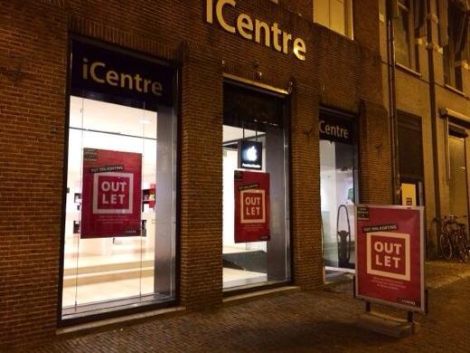 iCentre Haarlem is inmiddels veranderd in een iCentre-outlet.