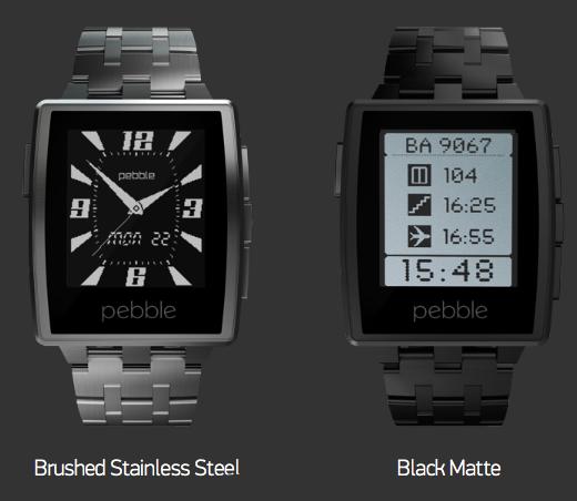 Pebble ziet er nu écht uit als een volwassen horloge.