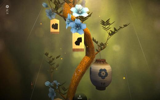 Levels zijn onderverdeeld in verschillende bomen die groeien bij het compleet maken van een level.