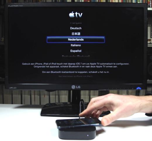 Een Apple TV voor het eerst instellen? Een kwestie van je iOS-apparaat erop leggen.