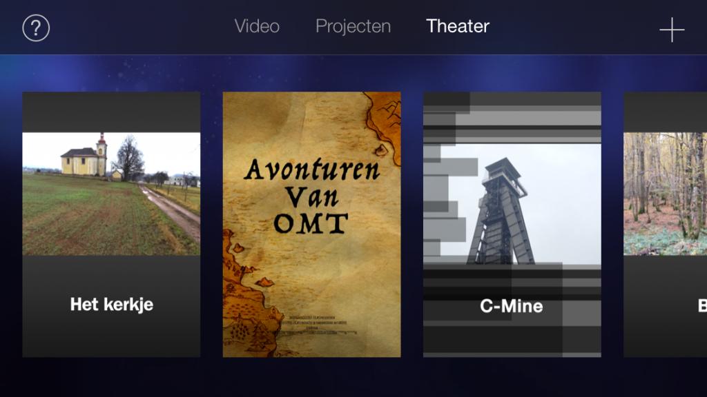 Staat je meesterwerk in iMovie Theatre, dan vind je hem terug op je Mac, je Apple TV en al je andere devices