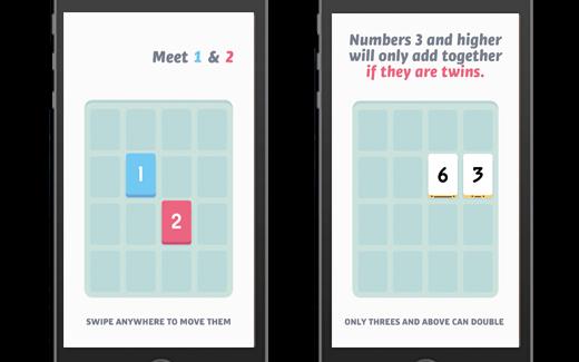 Bij Threes! draait het om het combineren van cijfers.
