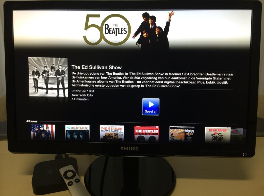 50 jaar The Beatles op de Apple TV.