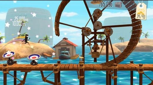 De soundtrack krijgt invulling aan de hand van acties van de speler.