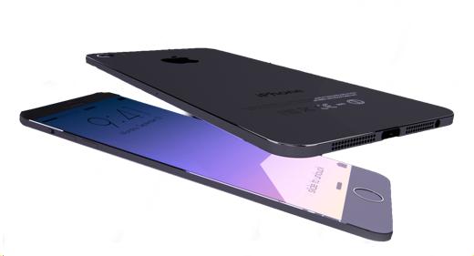 Concept van een dunne iPhone 6.