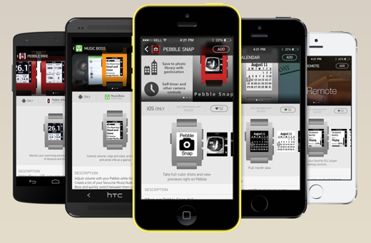 De Pebble App Store is nu live op iOS, later volgt Android.
