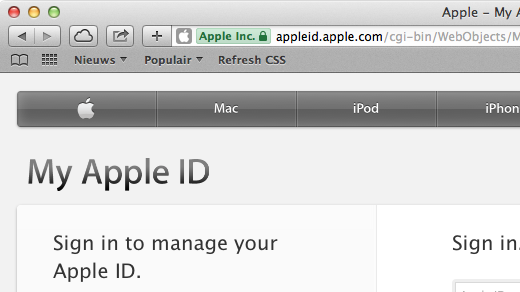 Apple ID secure - 520