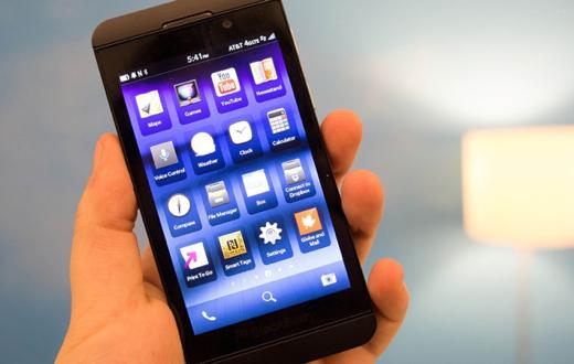 Basis van BlackBerry 10.