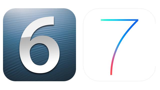 iOS 6 en iOS 7 logo-16x9