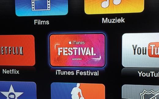 Vandaag heeft Apple het Apple TV kanaal gelanceerd voor het iTunes Festival.