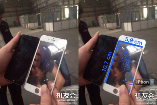 4,7-inch frontpanel iPhone 6?