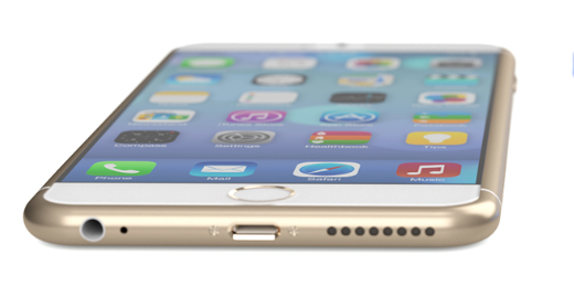 Wit/gouden 5,5-inch iPhone 6.