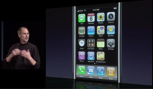 Ook bij de presentatie van de eerste iPhone was het 09:41 uur.