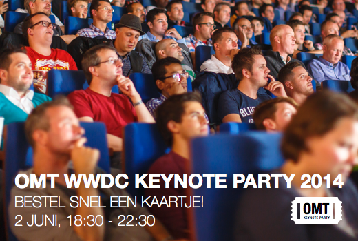OMT Keynote Party WWDC 2014. Kom je ook?