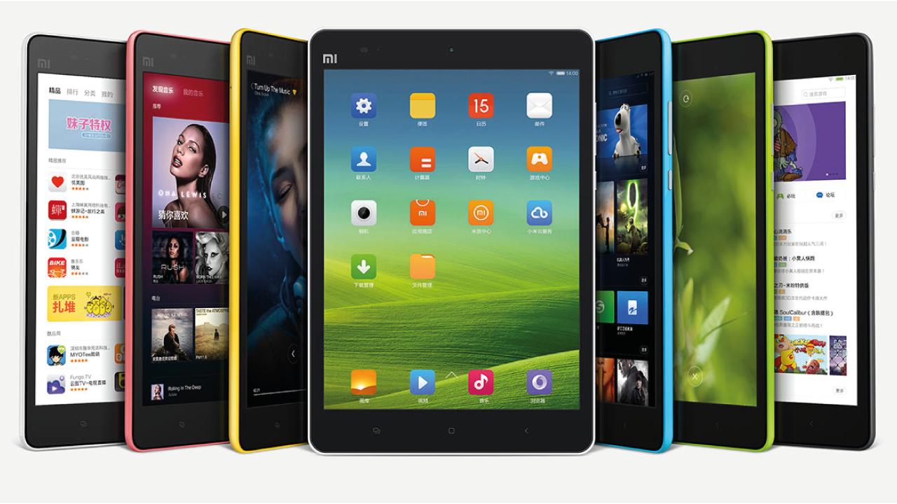 De Xiaomi MiPad lijkt sterk op de iPad mini.