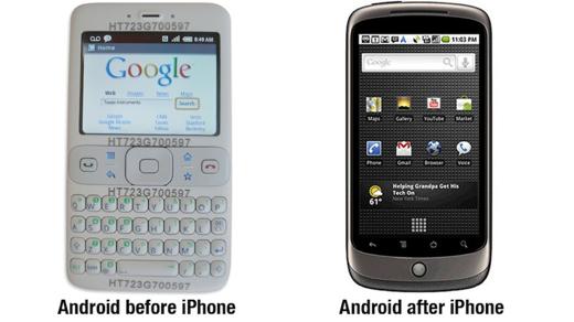 Hoe de iPhone de ontwikkeling van Android veranderde.