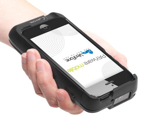 Apple gaat de Payware Mobile e315 van Verfifone gebruiken.