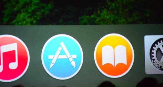 Nieuwe iconen in OS X Yosemite.