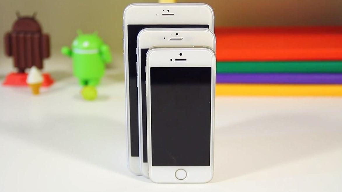 De iPhone 6 komt naar verluidt in 4,7- en 5,5-inch formaat.