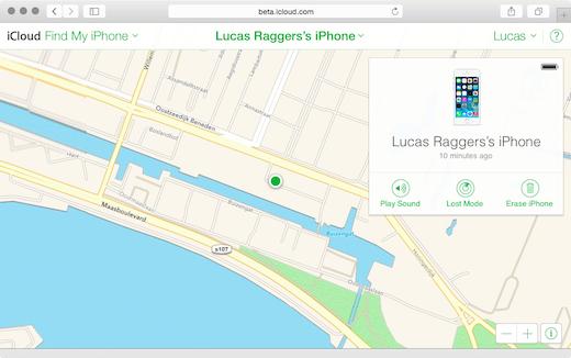 Zoek Apple Maps