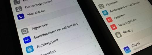 links iOS 8 beta 4